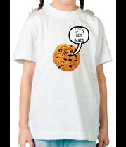 Детская футболка  Let's Get Baked