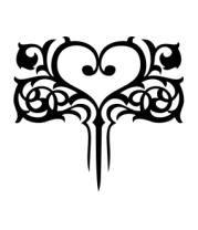 Кружка Узор в виде сердца