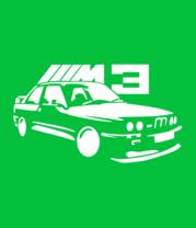 Женская футболка  BMW M3
