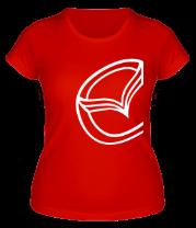Женская футболка  Мазда значок