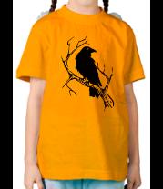 Детская футболка  Ворон