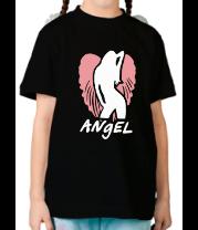 Детская футболка  Angel