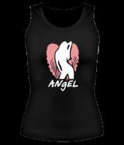 Женская майка борцовка Angel
