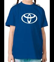 Детская футболка  Toyota big logo
