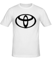 Мужская футболка  Toyota big logo