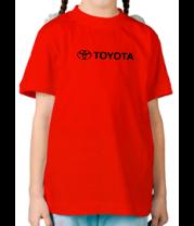 Детская футболка  Toyota