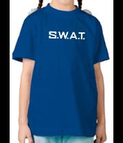 Детская футболка  S.W.A.T