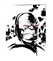 Женская футболка  Дарксайд (Darkseid)