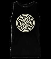 Мужская майка Крысы кельтский круг (свет)