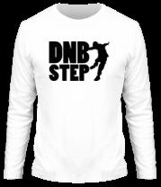 Мужская футболка с длинным рукавом DNB Step танцор