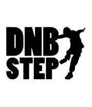 Женская футболка  DNB Step танцор