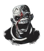 Трусы мужские боксеры Iron Maiden (zombie)