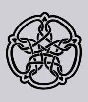 Толстовка Звезда в стиле кельтских узоров