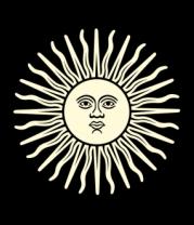 Толстовка Солнечный диск (свет)