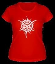 Женская футболка  Тату шипованная звезда