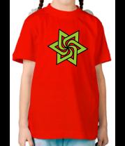 Детская футболка  Звезда торнадо