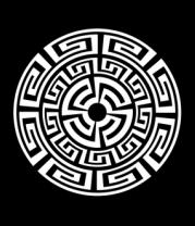 Толстовка Узор круговорот