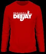 Мужская футболка с длинным рукавом Resident Deejay