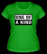 Женская футболка  One of a Kind