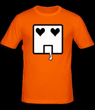 Мужская футболка  Квадратик (он)