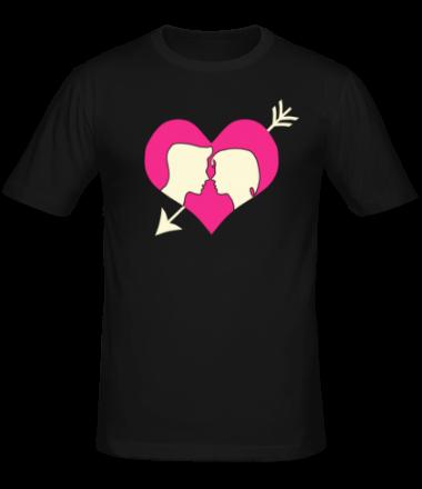 Мужская футболка  Ты в моём сердце