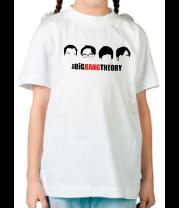 Детская футболка  The Big Bang Theory (face)