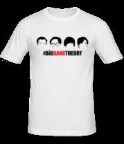 Мужская футболка  The Big Bang Theory (face)
