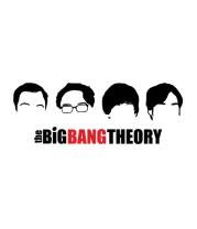 Женская майка борцовка The Big Bang Theory (face)