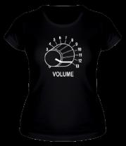 Женская футболка  Volume - крутилка