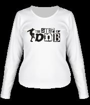 Женская футболка с длинным рукавом The Step of DNB