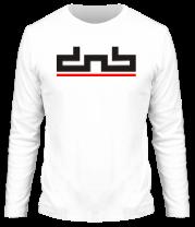 Мужская футболка с длинным рукавом DnB