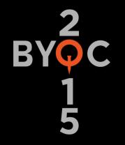 Женская футболка с длинным рукавом  BYOC (2015)