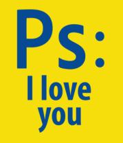 Детская футболка  Ps: i love you