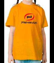 Детская футболка  Paul Van Dyk