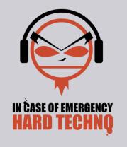 Толстовка Hard Techno