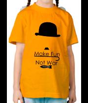 Детская футболка  Чарли Чаплин