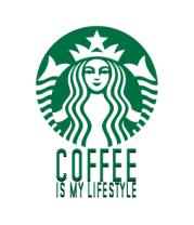 Детская футболка  Кофе - мой стиль жизни