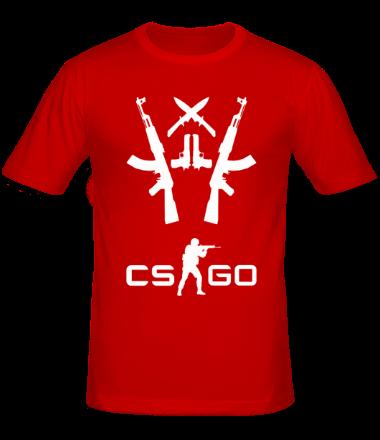Мужская футболка  CS GO 3