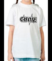 Детская футболка  Creative (Креатив)