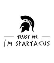 Бейсболка Trust me i'm sprartacus