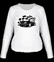 Женская футболка с длинным рукавом Streetracing