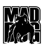 Толстовка без капюшона Mad dog