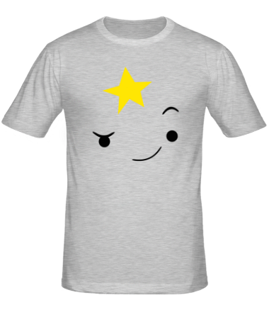 Мужская футболка  Пупырка подмигивает
