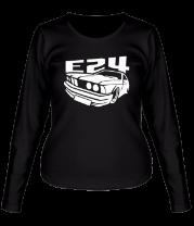 Женская футболка с длинным рукавом BMW E24