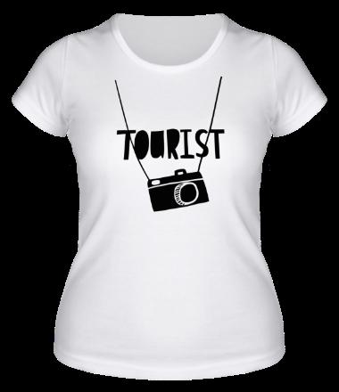 Женская футболка  Tourist