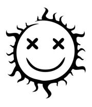 Толстовка Позитивное солнце