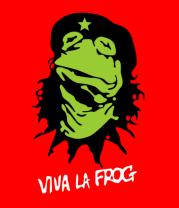 Мужская футболка с длинным рукавом Viva la Frog