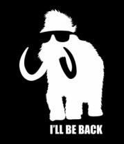 Женская футболка  Terminammoth. I'll be Back.