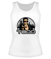 Женская майка борцовка T-800