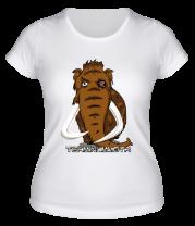 Женская футболка  Terminammoth